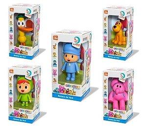 Kit Pocoyo Vinil 5 Bonecos - Cardoso Toys