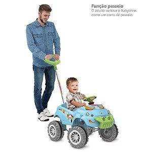 BabyCross Passeio e Pedal Azul - Bandeirante