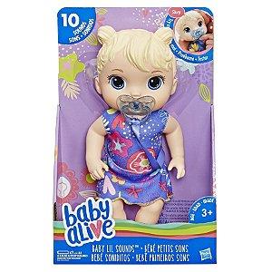 Baby Alive Primeiros Sons Loira E3690
