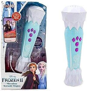 Microfone Musical Karaoke Frozen 2 Toyng