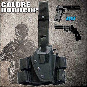 Coldre Robocop Universal Qualquer Modelo De Pistola.