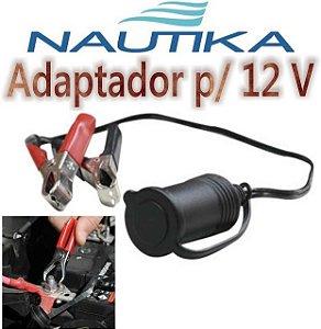 Adaptador Nautika Para 12v P/ Baterias - Refletores E Barcos