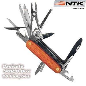 Canivete Suiço Box 18 Funções Caça Pesca E Camping Nautika