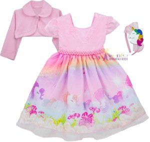 Comprar vestido de festa infantil barato