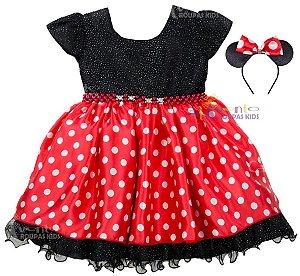 Vestido da mini vermelho