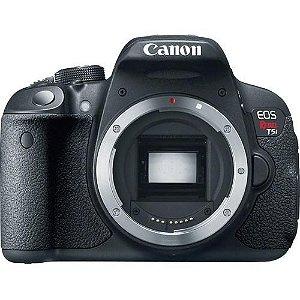 Câmera Canon T5i Lente EF-S 24mm f/2.8 STM