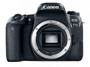 Canon Eos 77d 24.2mp Corpo