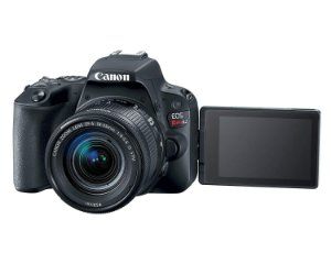 Canon SL2 Ef-s 18-55mm, 24,2mp, Full Hd, Wi-Fi
