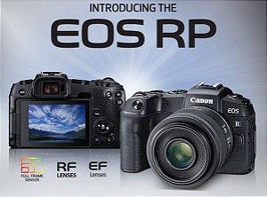 Canon EOS RP Mirrorless Corpo + Adaptador EF-EOS