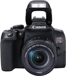 Canon t8i kit 18-55 24mp video 4k