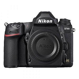 Nikon D780 (corpo) Lançamento 24 mp Gravação 4k