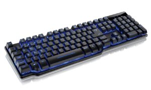 Teclado Gamer Semi Mecânico Multilaser Warrior TC196