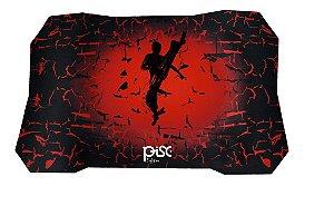 Mouse Pad Gamer Pisc Fighter 1885 Vermelho