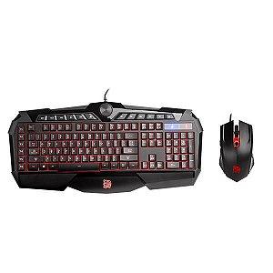 Combo Teclado e Mouse Gamer Thermaltake Challenger Prime RGB