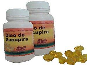 2 Frascos Sucupira Soft Gel - 60 Cápsulas 500mg