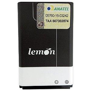 Bateria de Lítio 600 mAh Lemon para Celular Convencional