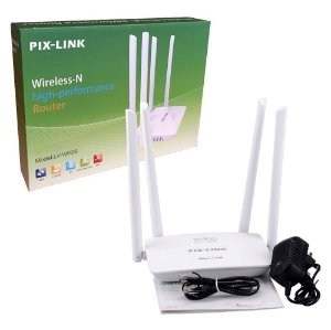 Roteador Wireless-N 300Mbps 4 Antenas