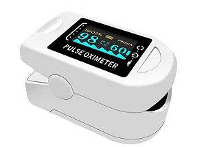 kit 2 - Oxímetro Digital Dedo Medidor Saturação Oxigênio Frequencia