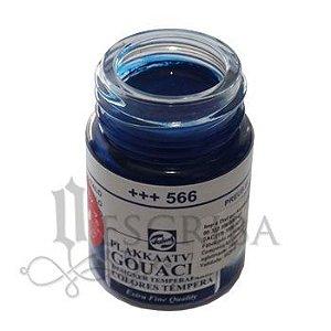 Tinta Guache Para Caligrafia - Talens Azul Prússia 566 - 16ml