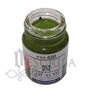 Tinta Guache Para Caligrafia - Talens Verde Oliva 620 - 16ml