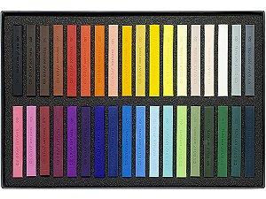 Giz Pastel Seco Cis Graf Soft Pastels 36 Cores