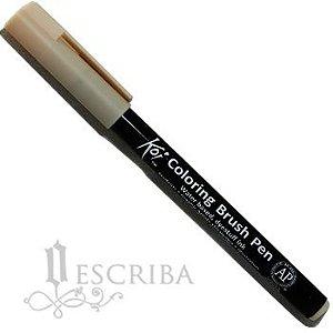 Caneta Pincel Koi Coloring Brush Pen Sakura - Amarelo Nápole XBR#09
