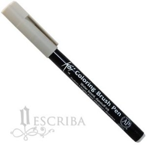 Caneta Pincel Koi Coloring Brush Pen Sakura - Cinza Cool Claro XBR#153