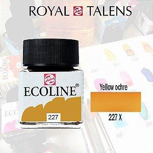 Aquarela Líquida Ecoline  Amarelo Ocre 227 - 30ml