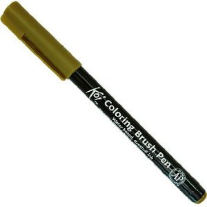 Caneta Pincel Koi Coloring Brush Pen Sakura - Umbra XBR#47