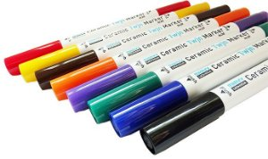Conjunto Marcador Ceramic Twin Marker - 08 Cores