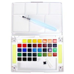 Aquarela Koi Water Colors Sakura - 36 Cores