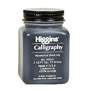 Tinta Para Caligrafia Higgins Calligraphy Preta 73.9ml