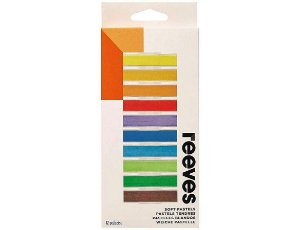 Giz Pastel Seco Reeves 12 Cores