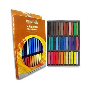 Giz Pastel Seco Reeves 36 Cores