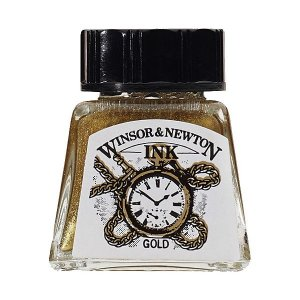 Tinta Para Desenho Winsor & Newton 14ml Gold