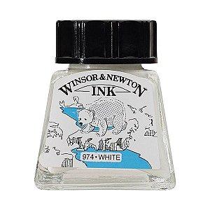 Tinta Para Desenho Winsor & Newton 14ml White