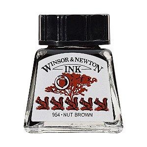 Tinta Para Desenho Winsor & Newton 14ml Nut Brown