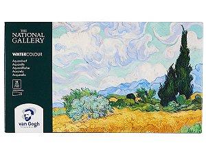 Aquarela Van Gogh Royal Talens 18 Pastilhas + 2 Tubos
