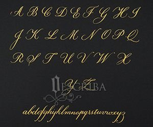 Manuscrito Copperplate - A05