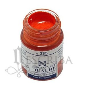 Tinta Guache Para Caligrafia - Talens Laranja 235 - 16ml