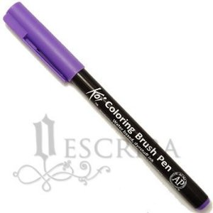 Koi Coloring Brush Pen Sakura - Roxo Claro XBR#224