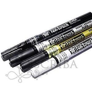 Marcador Pen-Touch Sakura - Ponta 1mm - Várias Cores