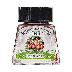 Tinta Para Desenho Winsor & Newton 14ml Scarlet