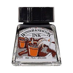 Tinta Para Desenho Winsor & Newton 14ml Peat Brown