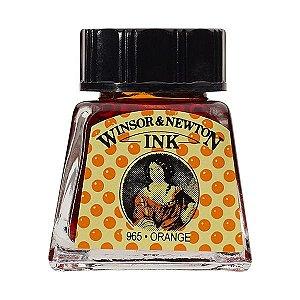 Tinta Para Desenho Winsor & Newton 14ml Orange
