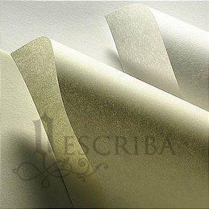 Papel Pergaminho 160g - Cor Natural - 10 Folhas