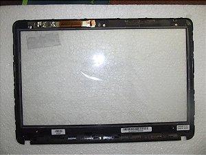 Tela Touch Screen Sony Svf14/svf142 C/moldura