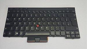 Teclado Thinkpad Ibm T430 T530 X230 T430 W530 Preto Br Com Ç
