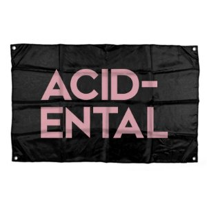 "Acidental ""Logo"" Bandeira"