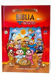 MINHA PRIMEIRA BÍBLIA - COM A TURMA DA MÔNICA